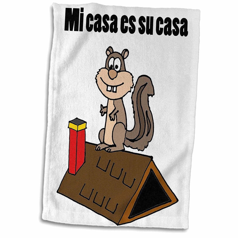 3dローズFlorene ChildrensアートV – 黄色のドットで漫画Backhoeイメージ – タオル 15x22 Hand Towel twl_243585_1 B01LX843WO  15x22 Hand Towel