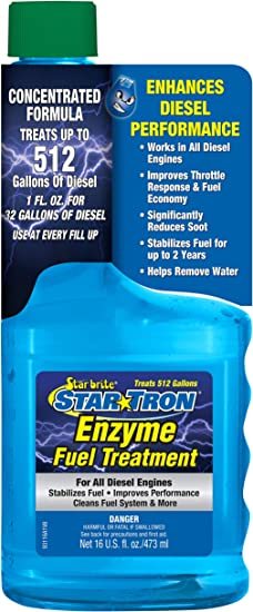 Star Tron Enzyme Fuel Treatment Super Concentrated Diesel Formula