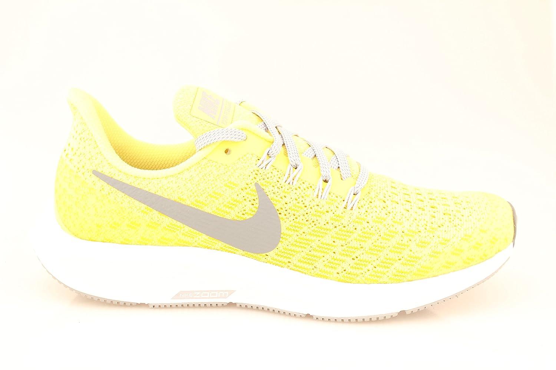 Nike Air Zoom Pegasus 35 (GS), Zapatillas para Mujer 39 EU Multicolor (Dynamic Yellow/Cool Grey/Amarillo 001)