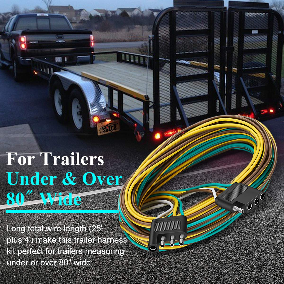 Trailer Light Wiring Harness Additionally 4 Wire Trailer Wiring