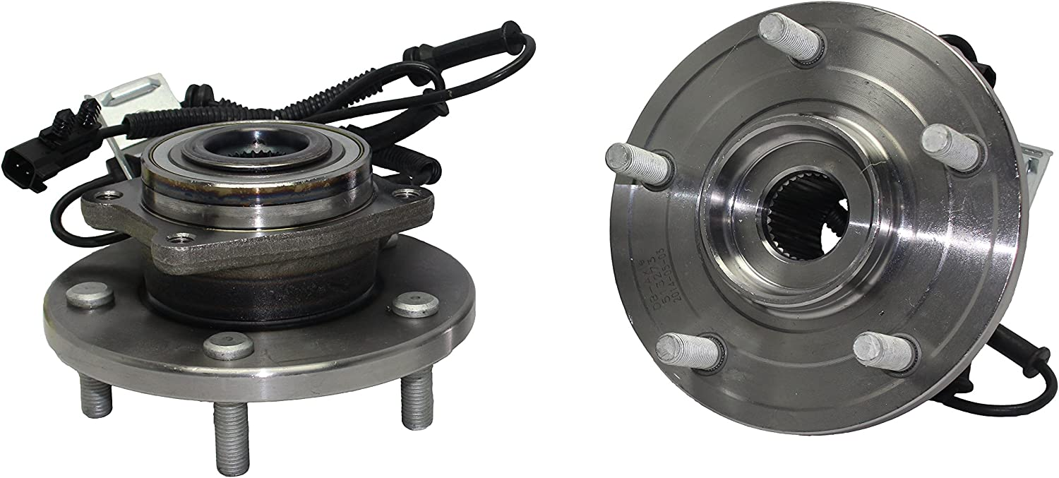 2010 For Dodge Grand Caravan Front Wheel Bearing and Hub Assembly x 2