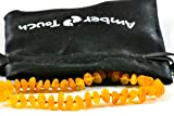 Raw Baltic Amber Teething Necklace