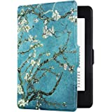 Huasiru Painting Case for Kindle Paperwhite, Almond Blossom - fits All Paperwhite Generations Prior to 2018 (Will not fit All-New Paperwhite 10th Generation)