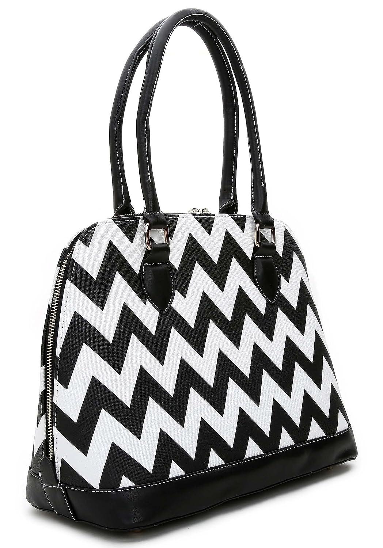 Black White pinkwand Women's 'Anzie' Bag