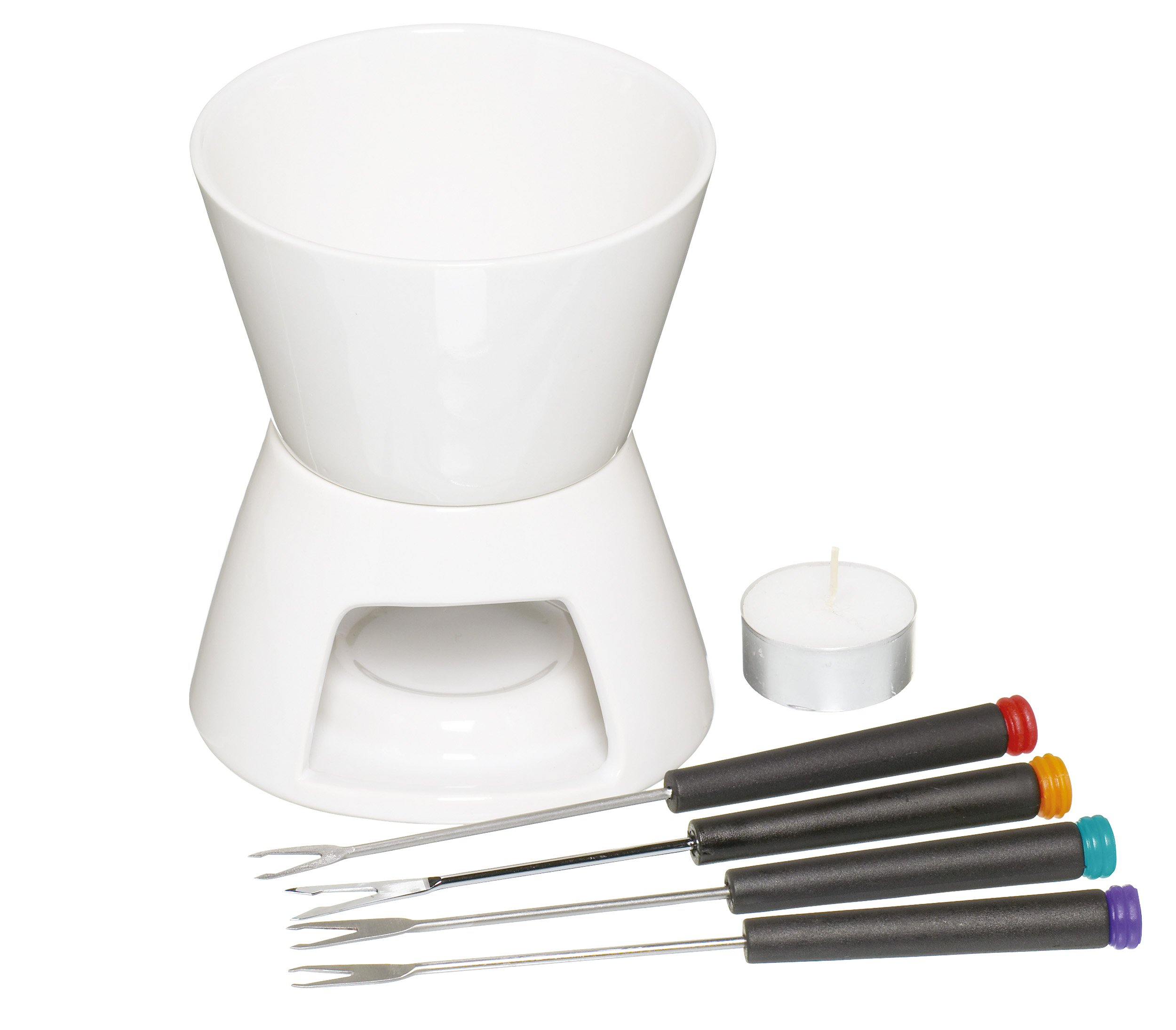 Chocolate Fondue Set With Four Forks
