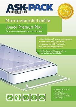 ASK Pack Bolsa de Colchón Junior Premium para un Colchón de 90cm ...
