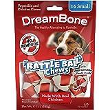 DreamBone Chicken Rattle Ball Dog Chew