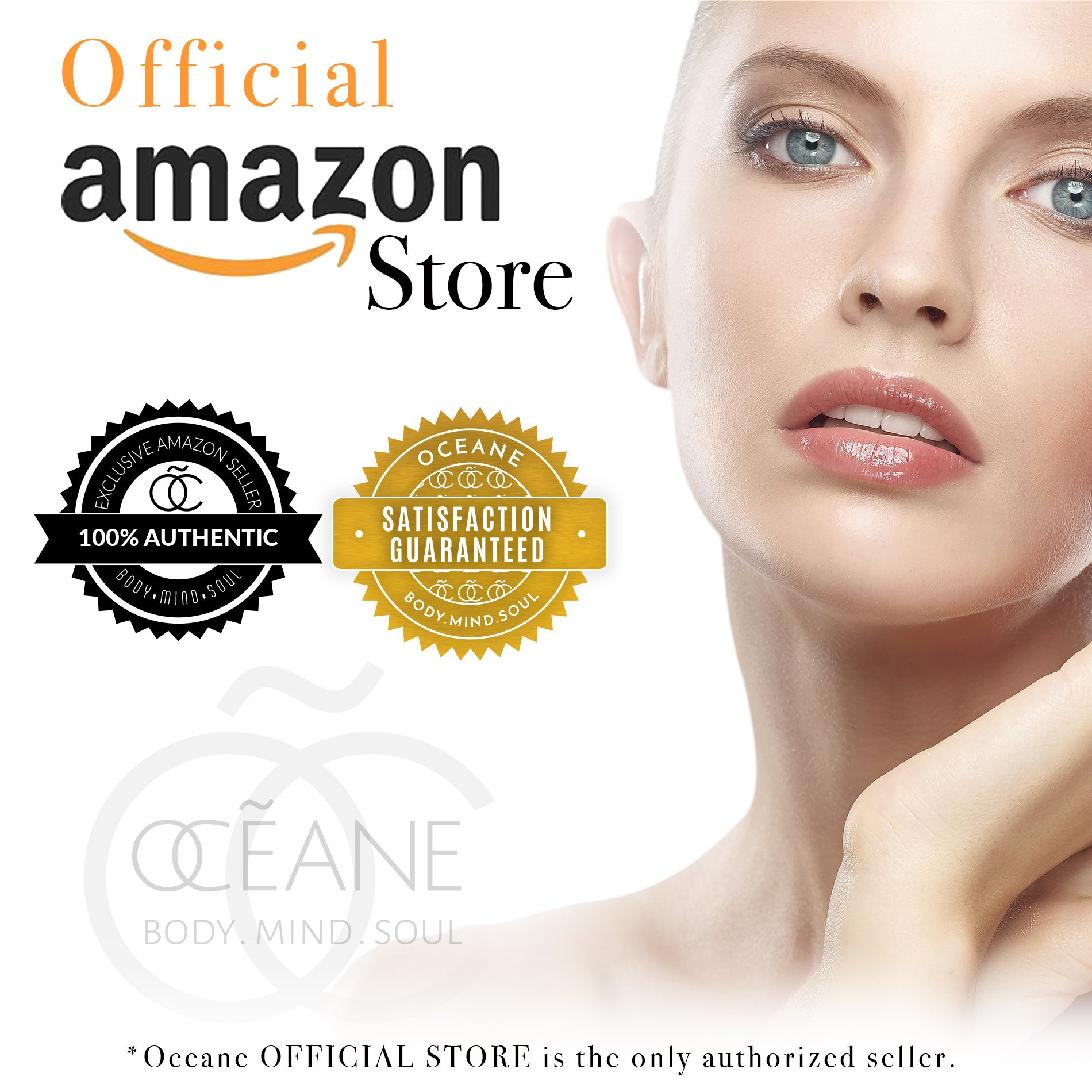 OCEANE Beauty White Pearl Infused Toner, Enriched with Natural Pearl Powder and Marine Plant Stem Cells Beauty System, Age-Defying Tighten Toner OC4