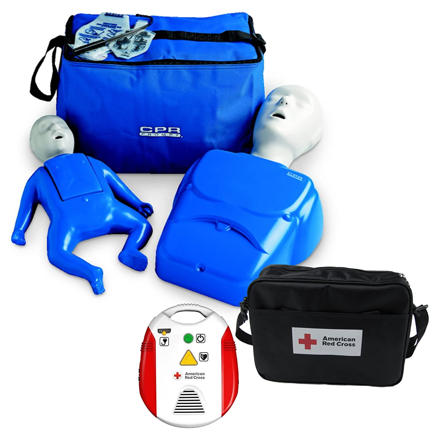 Beginner Instructor Package Cpr Prompt Manikins Red Cross Aed