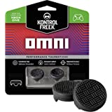 KontrolFreek Omni for Xbox One Controller | 2 Performance Thumbsticks | 2 Low-Rise Concave | Black