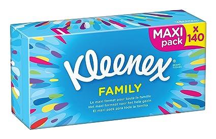 Kleenex Family - Pañuelos, 140 unidades