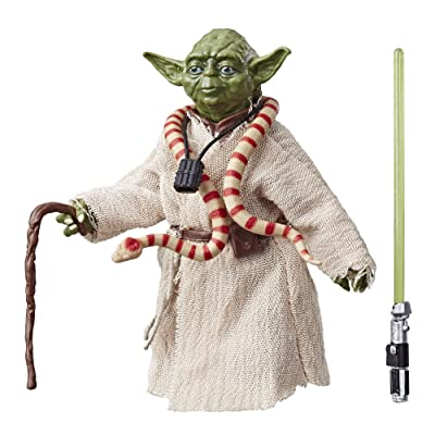 "Star Wars The Black Series Archive Yoda 6"" Scale Figure: Toys & Games"