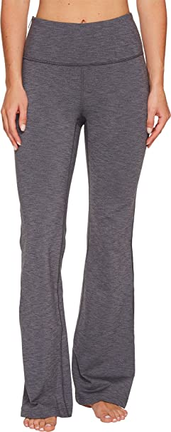 634f9340e23 Lucy Women s Strong Is Beautiful Flare Pants Silver Filigree Tonal Heather  X-Large