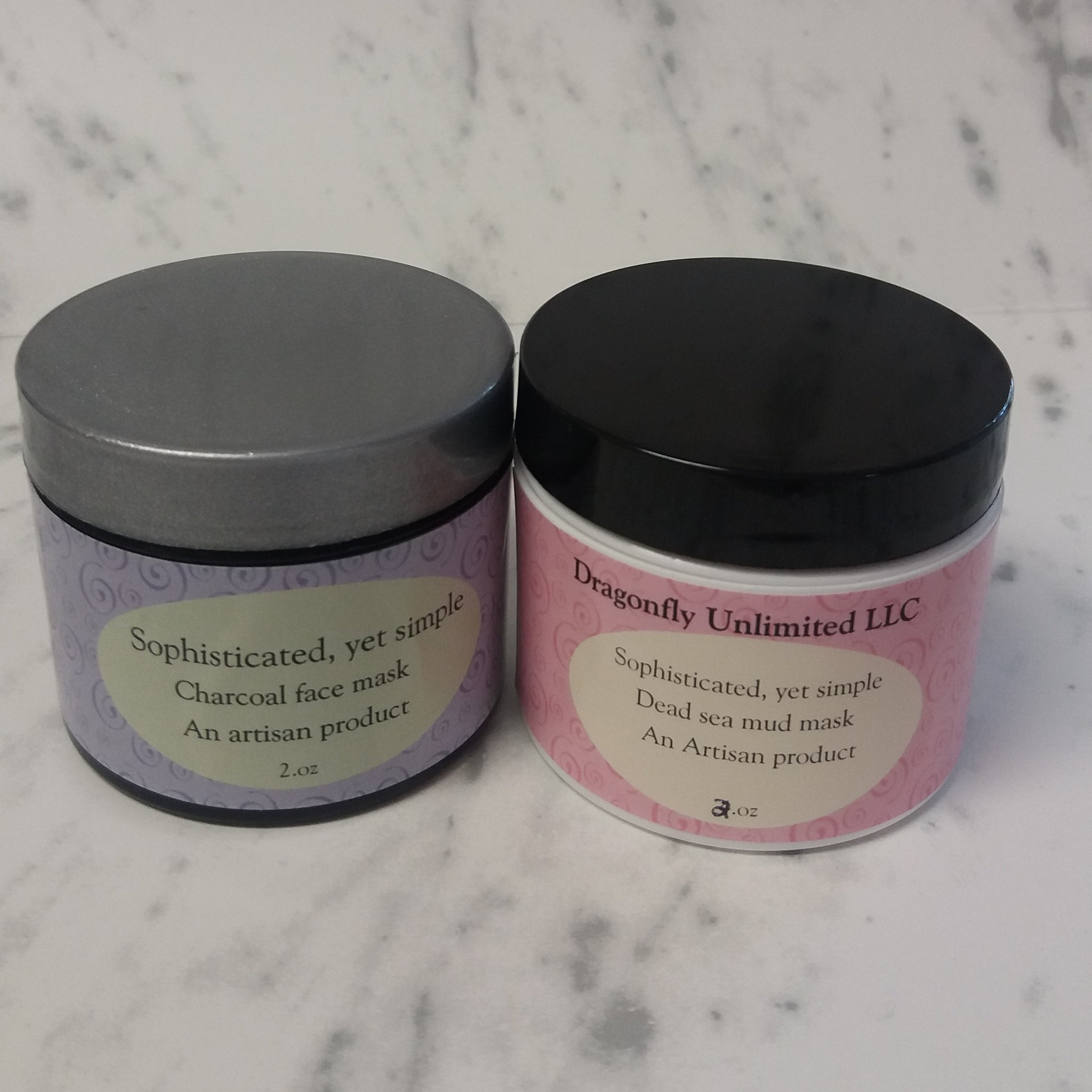 Dead sea mud mask, charcoal face mask, mud mask, charcoal mask, face treatment, made with real Dead sea mud from Israel