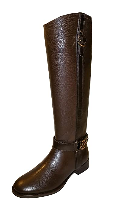 feee09cd2376 Tory Burch Elina Riding Coconut Leather Boot Shoes