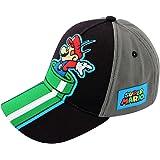 Nintendo Super Mario Kids Baseball Hat, Little Boys Cap, Age 4-7