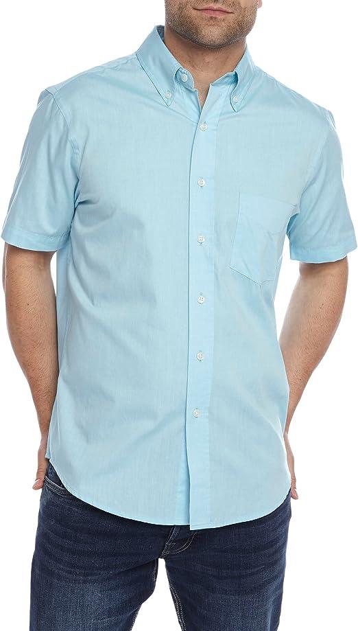 Charles Wilson - Camisa Casual - Básico - para Hombre Azul Azul Celeste XXX-Large: Amazon.es: Ropa y accesorios