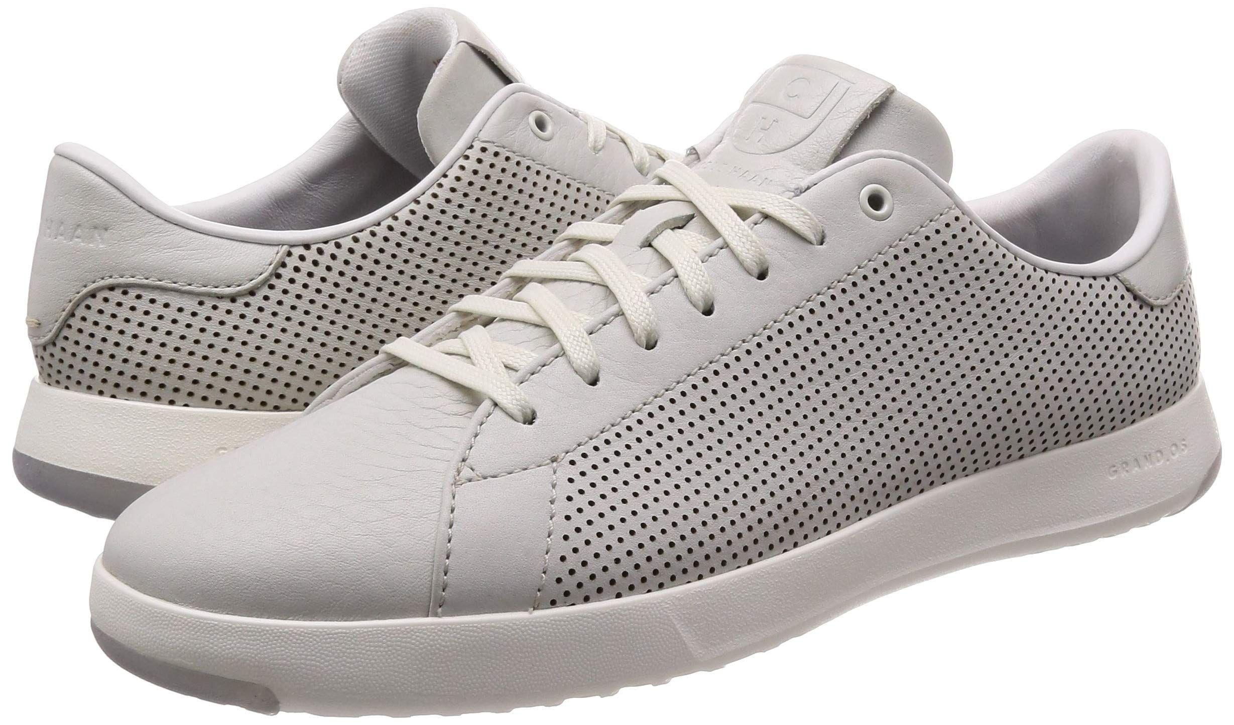 Cole Haan Mens Grandpro Tennis Sneaker 7 Chalk Tumbled Leather by Cole Haan (Image #5)
