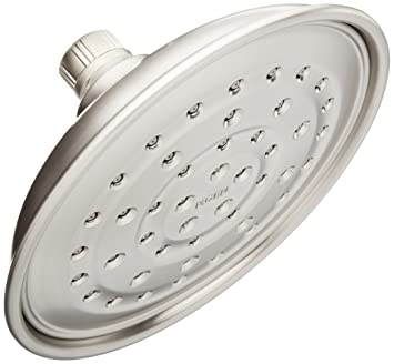 Perfect Moen 21007SRN Vitalize 7 Inch Rain Shower Head Featuring Pressurized  Invigorain Technology   Spot Resist Brushed