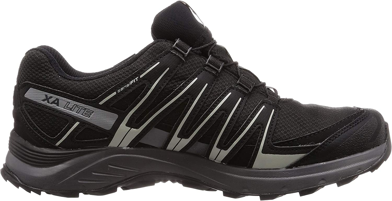 Negro SALOMON Mens Xa Lite GTX Trail Running Shoes Waterproof