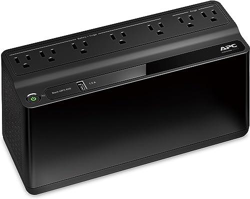 APC BE600M1 UPS Battery Backup & Surge Protector