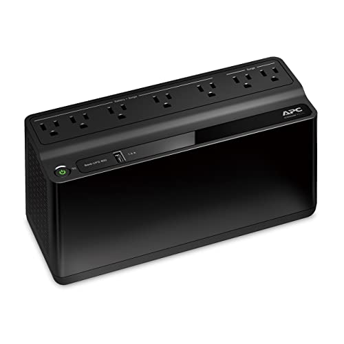 APC 600VA UPS Battery Backup & Surge Protector