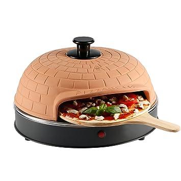 Ultratec - Pizzarette, Horno para Pizzas con Placa de Metal para 6 Personas