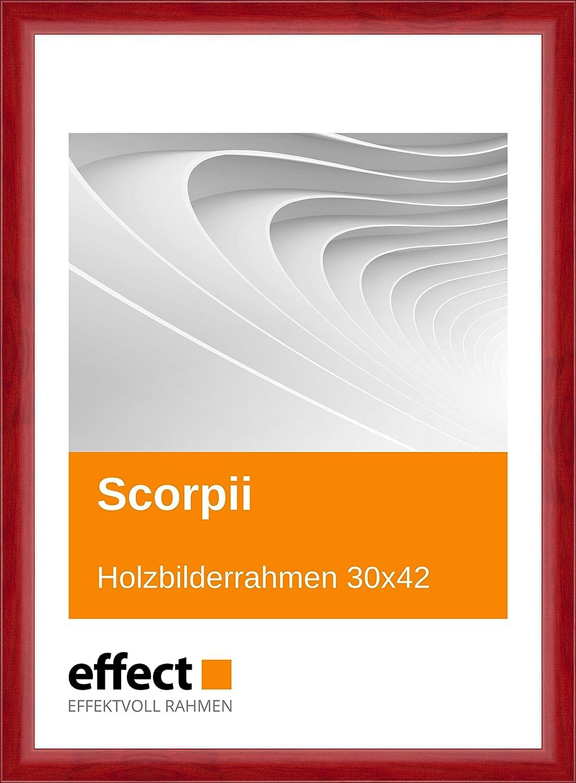 Effect Bilderrahmen Scorpii Rot Bilderrahmen Holz 30x42 Normalglas ...