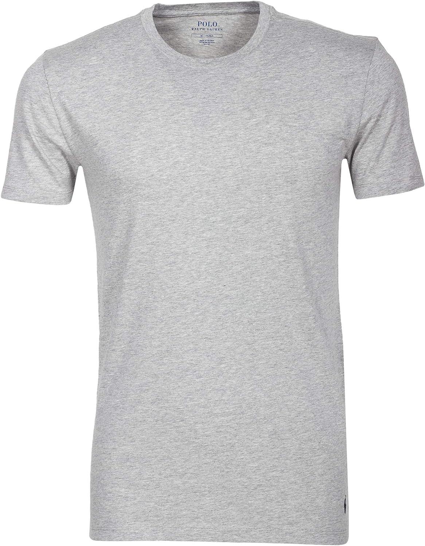 Polo Ralph Lauren Pack de 3 Hombres Camisetas, Cuello Redondo ...
