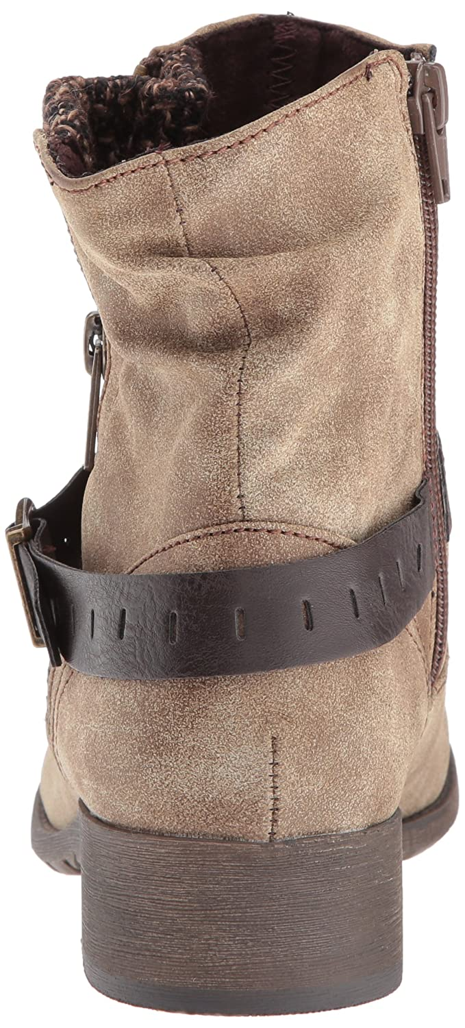 Jellypop Women's Cate Engineer Boot B06W9M1P6S 10 B(M) US|Brown Distress Small