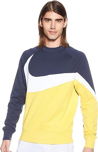 NIKE M NSW Hbr CRW Ft Stmt - Camiseta de Manga Larga Hombre ...