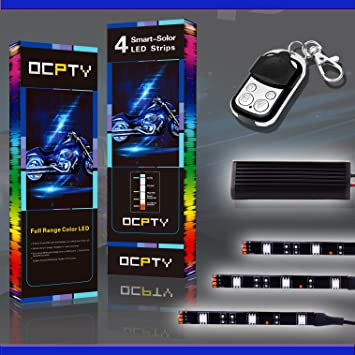 Review OCPTY 6Pack Motorcycle LED