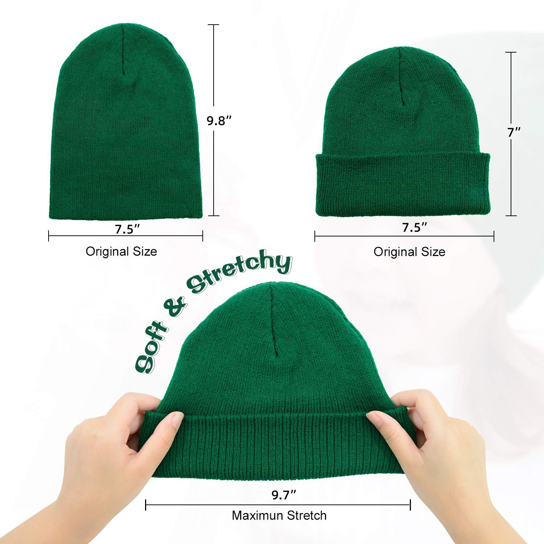 Century Star Kids Winter Warm Knit Hats Slouchy Baggy Beanie Hat Skull Cap for Boys Girls