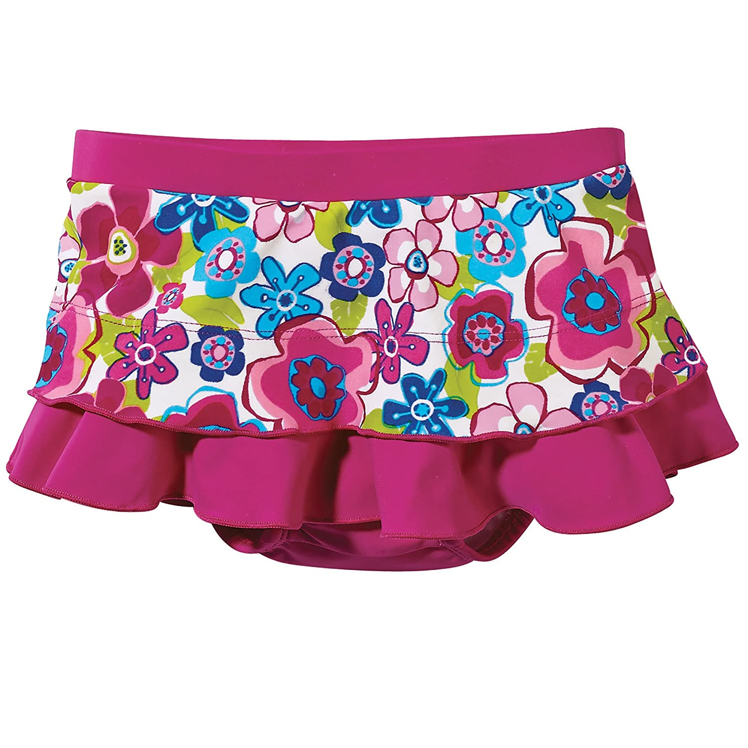a4ace8dc33 ... Sun Smarties Toddler Girl Butterfly Reusable Washable Swim Diaper Skirt  2T Blue 6868382 ...
