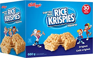 Kellogg's Rice Krispies Square Bars 660g Jumbo Pack-Original, 30 Cereal Bars