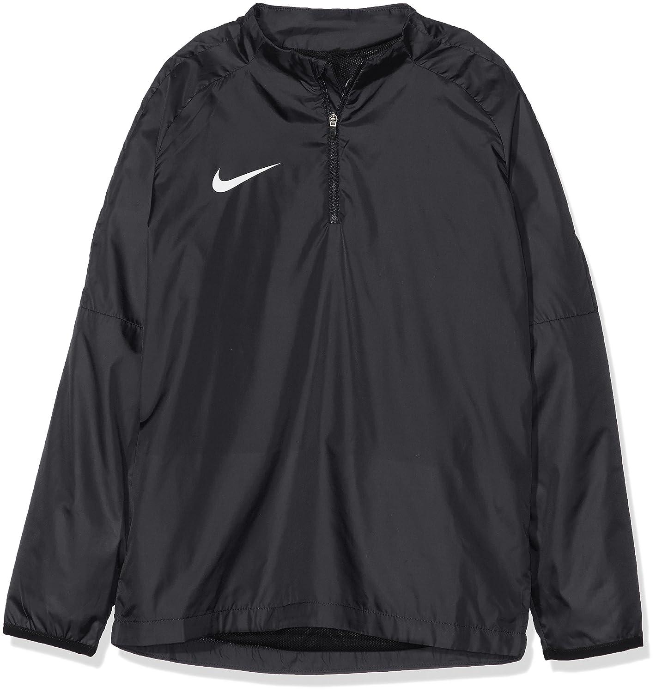 Nike Kids Academy 18 Drill Top Shield Jacket S Black//Black// White