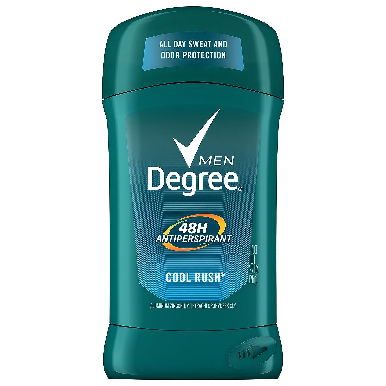 Degree Men Original Protection Antiperspirant Deodorant, Cool Rush, 2.7 oz, Pack of 6, (Packaging may vary) Unilever 10079400265408
