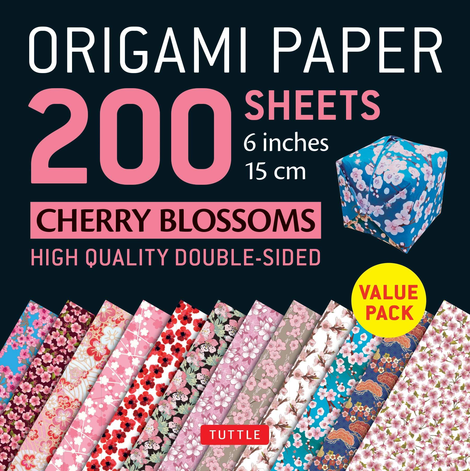 it's a heart heart season: Origami Cherry Blossoms | 1805x1801