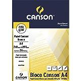 Bloco Desenho Branco A4 200g/m², Canson, 66667045, 20 Folhas