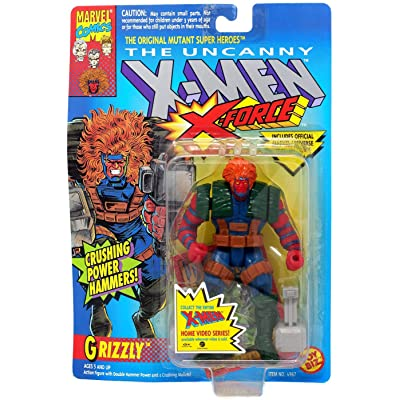 X-Men: X-Force > Grizzly Action Figure: Toys & Games