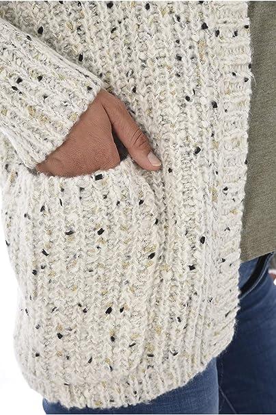Kaporal Gilet Laine Chiné Tovia: : Vêtements et