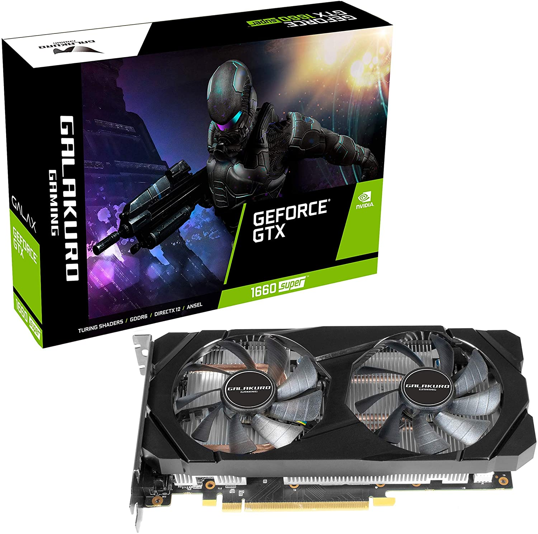 玄人志向 NVIDIA GeForce GTX 1660Super 搭載 グラフィックボード 6GB デュアルファン GALAKURO GAMINGシリーズ GG-GTX1660SP-E6GB/DF