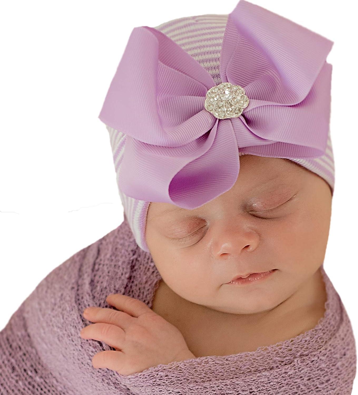 Newborn Girl Props Dark Purple Baby Hat Baby Girl Sleepy Hat Stretchy Newborn Cap Purple Newborn Cap Purple Newborn Hat Knot Hat
