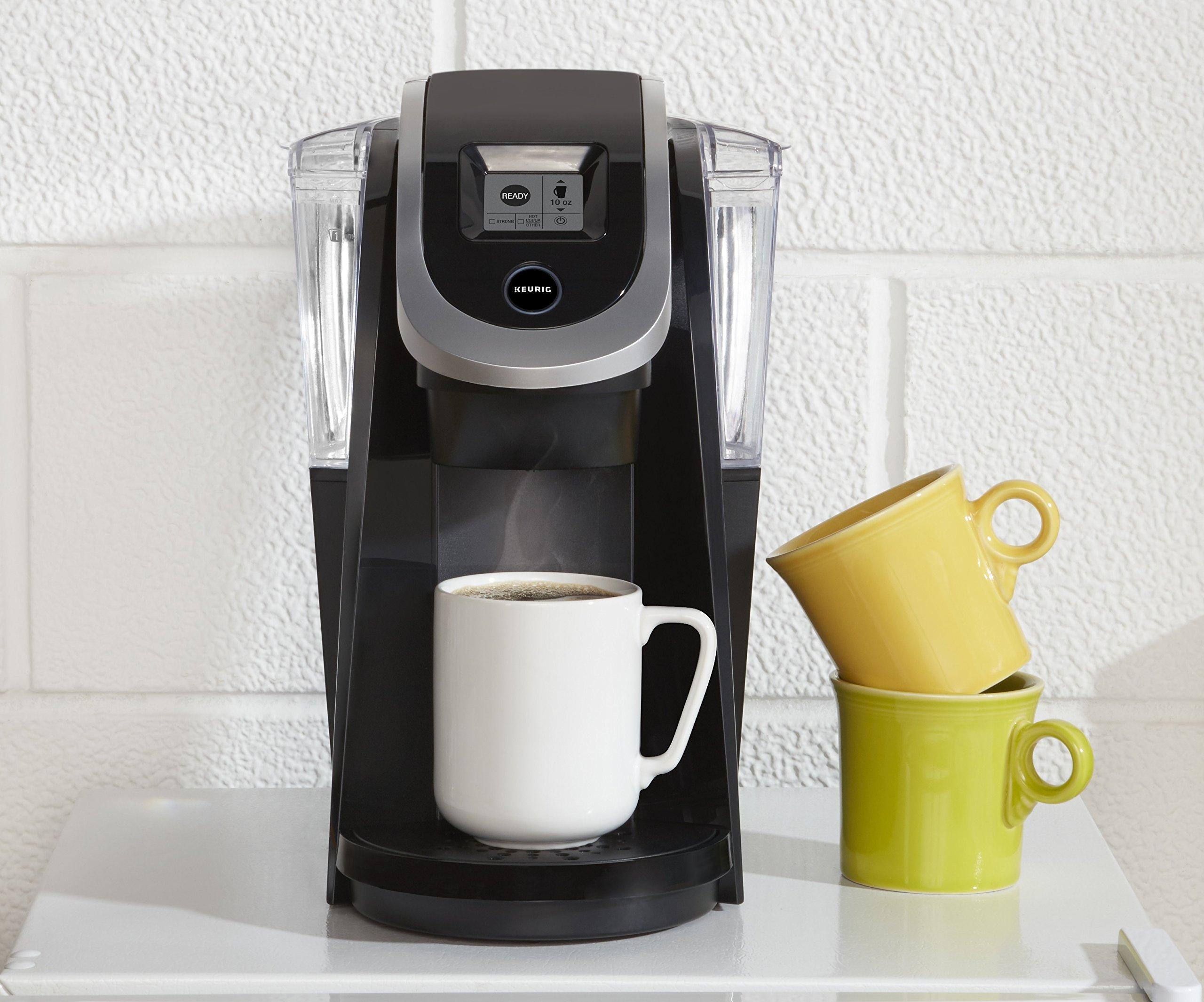Keurig K200 Single-Serve Programmable K-Cup Pod Coffee Maker, Black (Certified Refurbished) by Keurig