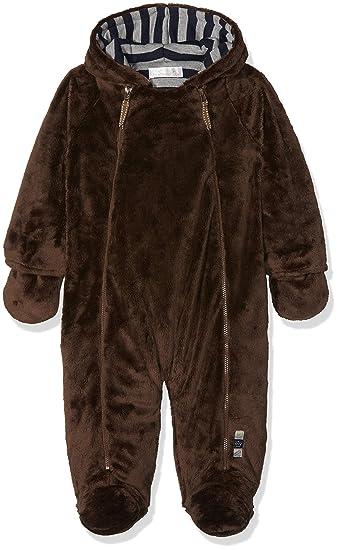 d1e2dcc695bc The Essential One - Fur Baby Snowsuit Pram suit EO4 Brown  Amazon.co ...