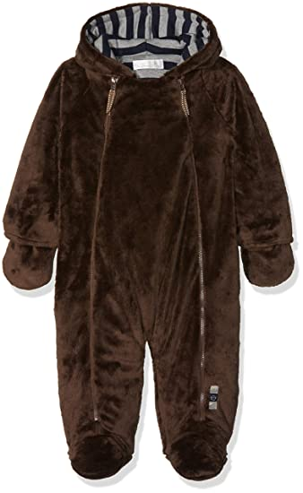 d15a2e19d The Essential One - Fur Baby Snowsuit Pram suit EO4 Brown: Amazon.co.uk:  Baby