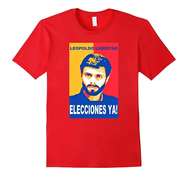 Leopoldo Libertad T-Shirt Venezuela Pray Support Top Tee-TD