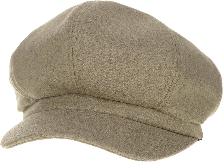 WITHMOONS Sombreros Gorras Boinas Bombines Newsboy Hat Wool Felt ...