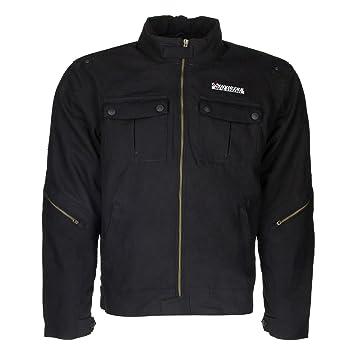Chaqueta textil de moto estilo vintage cafe racer Invictus Alexandros (M): Amazon.es: Coche y moto