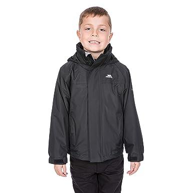 f7115d8c6 Trespass Skydive Waterproof 3 in 1 Jacket for Boys & Girls: Amazon ...